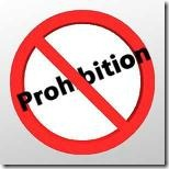No Prohibition