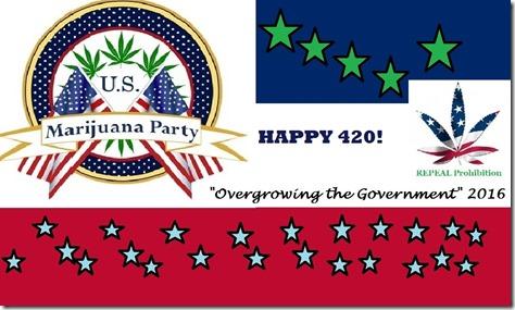HAPPY 420 FROM THE U.S. MARIJUANA PARTY!