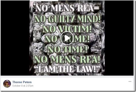 Thorne Peters No Mens Rae